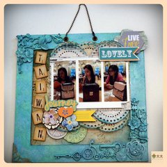 Girls in Taiwan Photo Frame