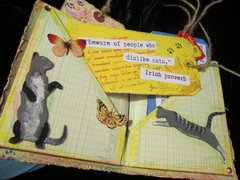cat quote book layout