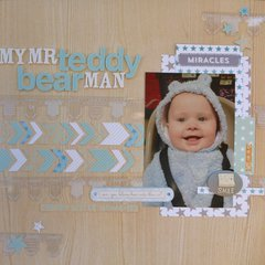 My Mr Teddy Bear Man