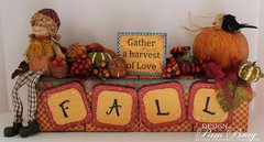 Gather a Harvest Of Love Table Decoration