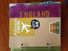 England mini album divider 6