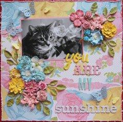 Yau are my sunshine