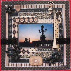 PARIS le pont alexadre III