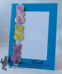 Picture frame with sparkle