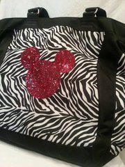 Embellished Tote or Suitcase/Bag!