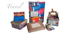 Create your own travel items!