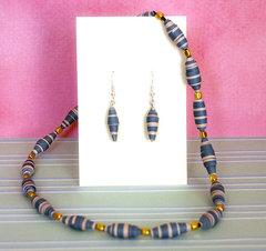 Paper jewellery set