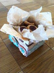 Cookies gift box