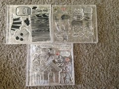clear polymer stamp storage