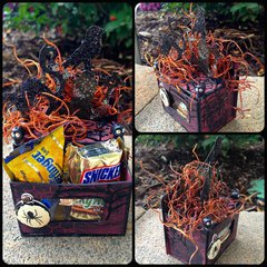 Altered Spooky Treat Box
