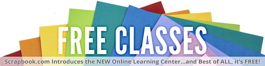 Free Classes at Scrapbook.com