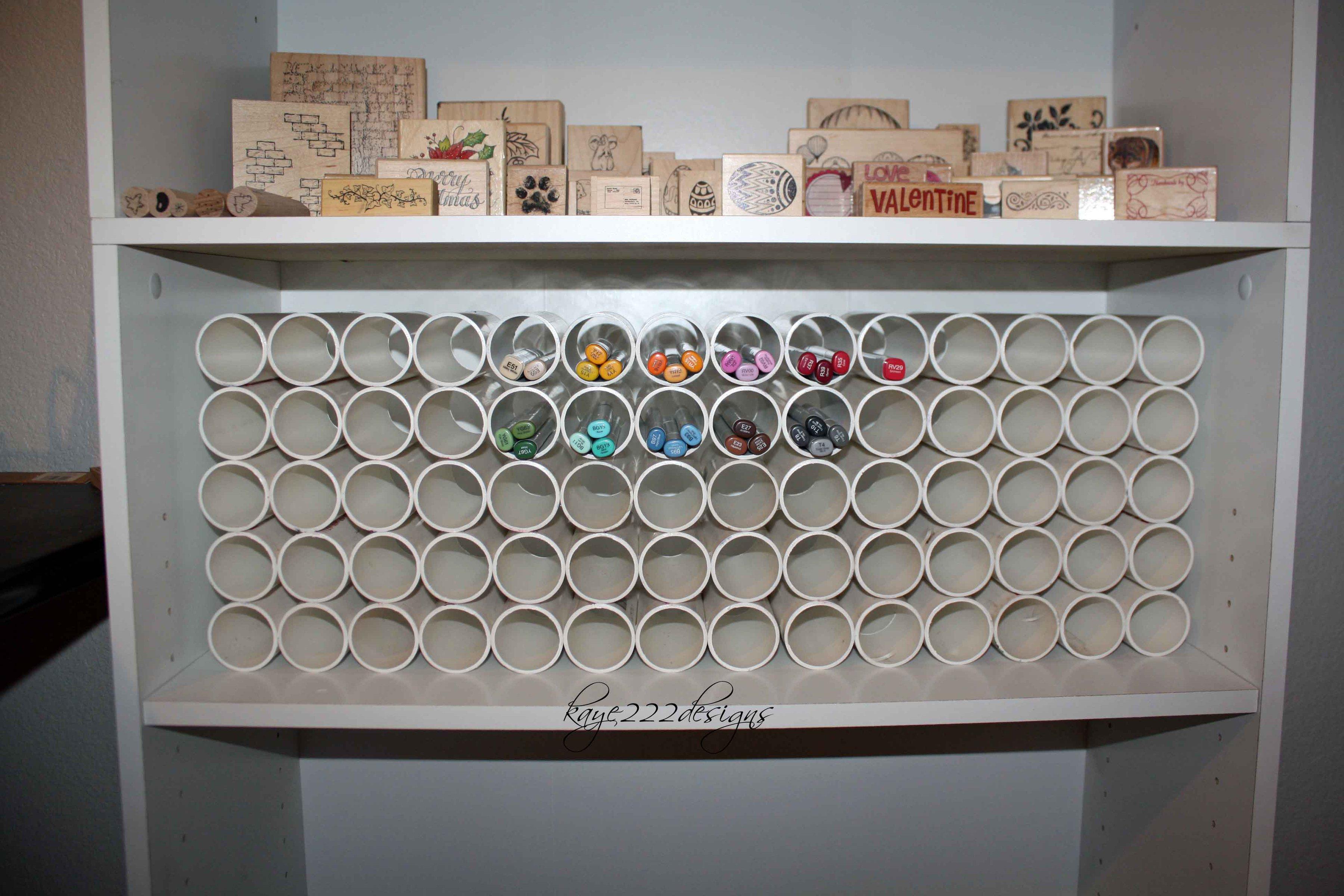 Scrapbook room storage ideas - Scraproom Copic Marker Storage 3600x2400