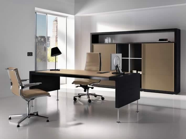 Photo despacho moderno para alta direccion for Despachos modernos