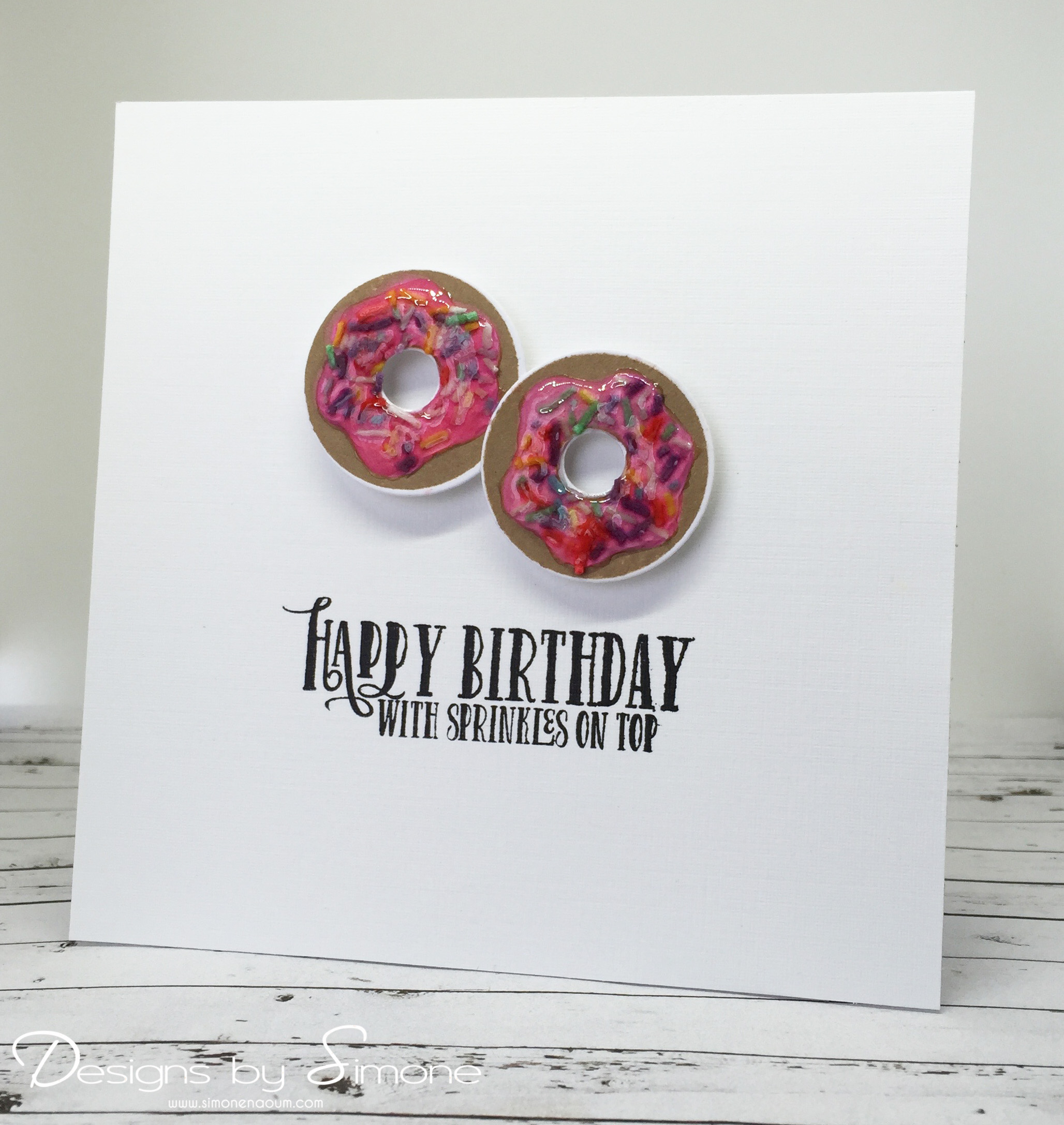 Card: Donut Birthday Card