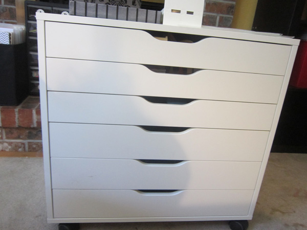 scraproom ikea alex drawer unit. Black Bedroom Furniture Sets. Home Design Ideas