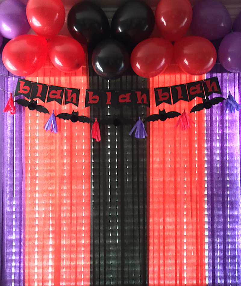 Other we r diy party hotel transylvania 2 decor for R b party decorations