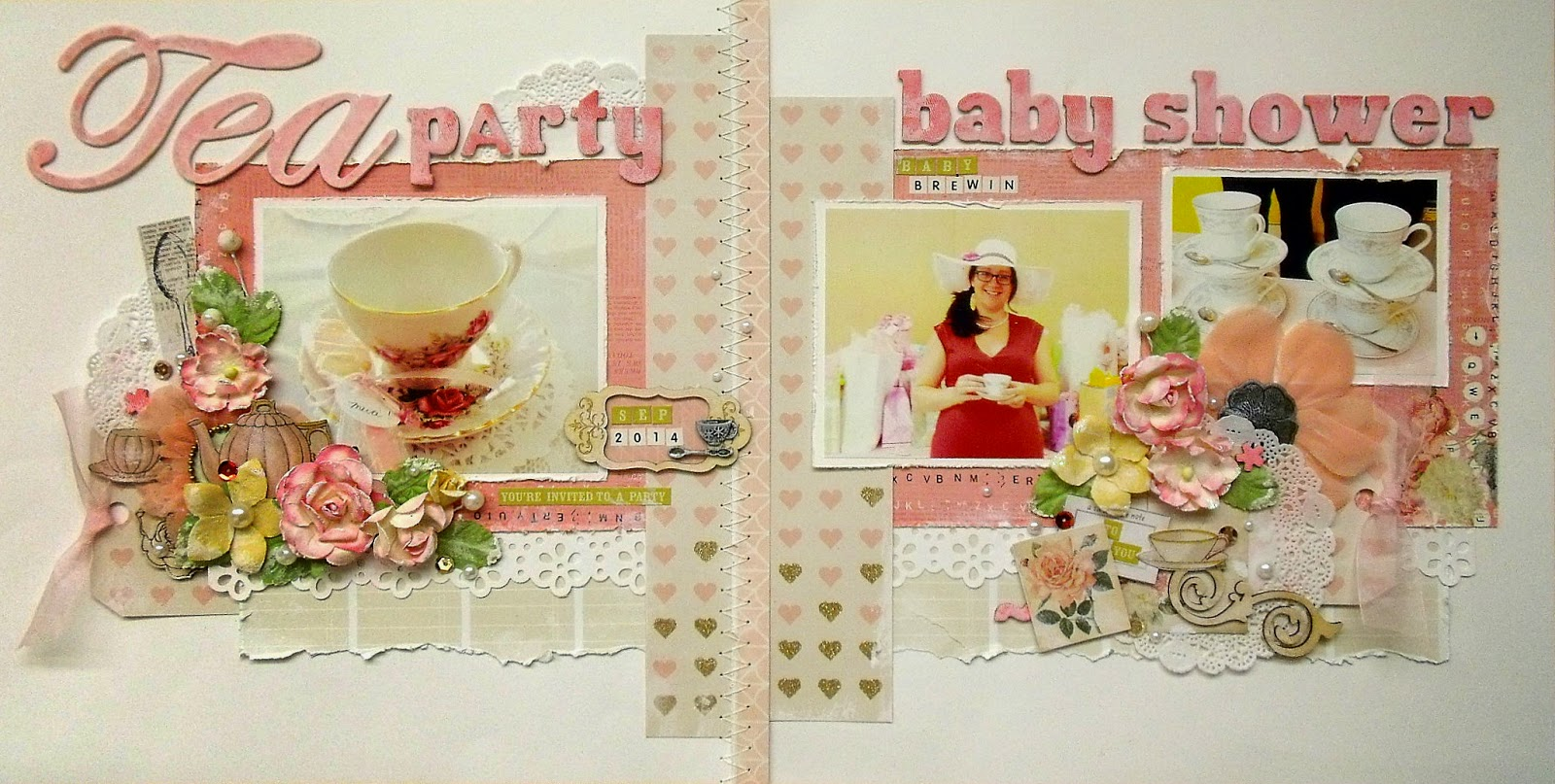 tea party baby shower spring 2015