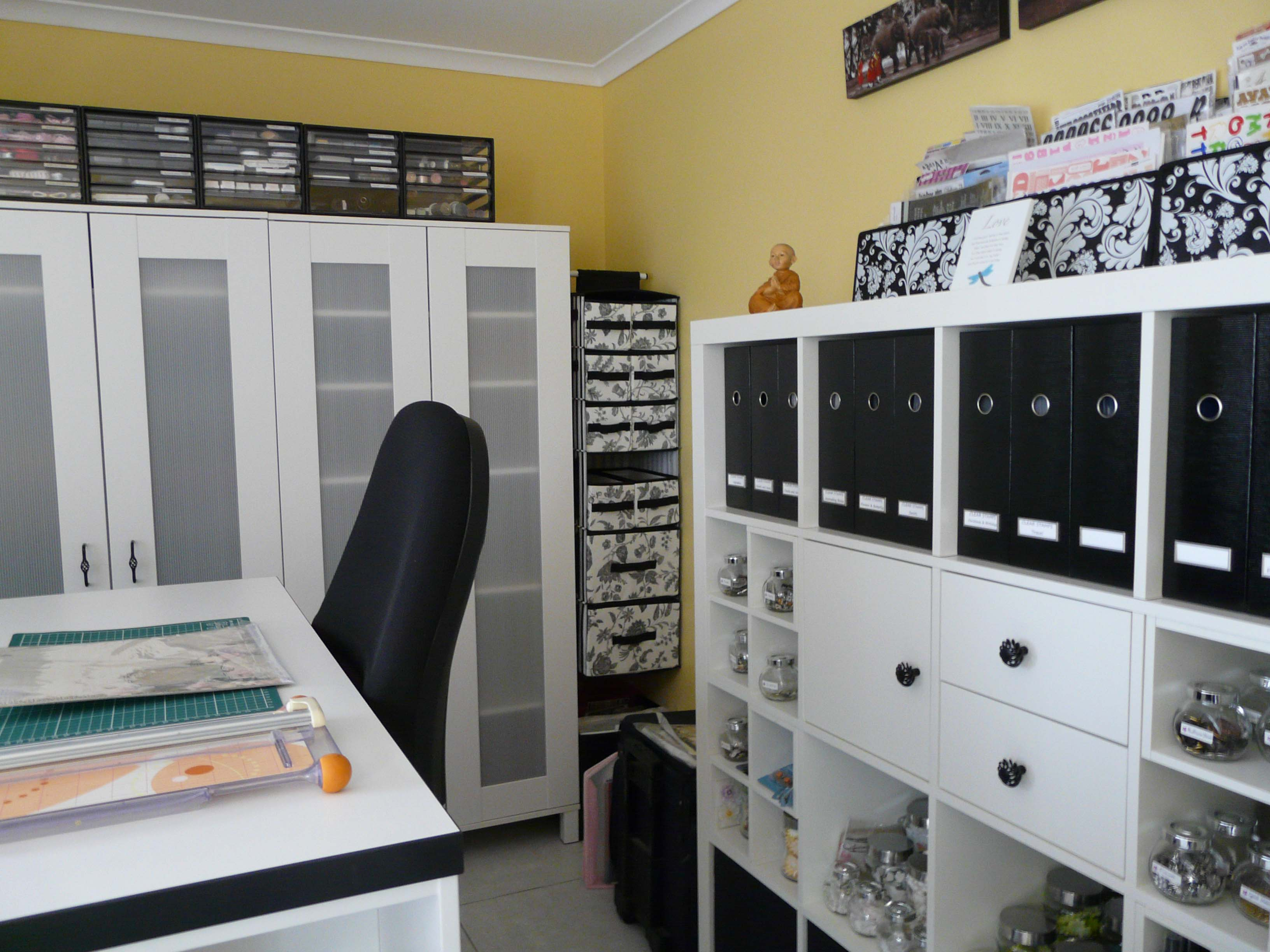 Storage For Craft Room: Scraproom: My Scrapbook Room