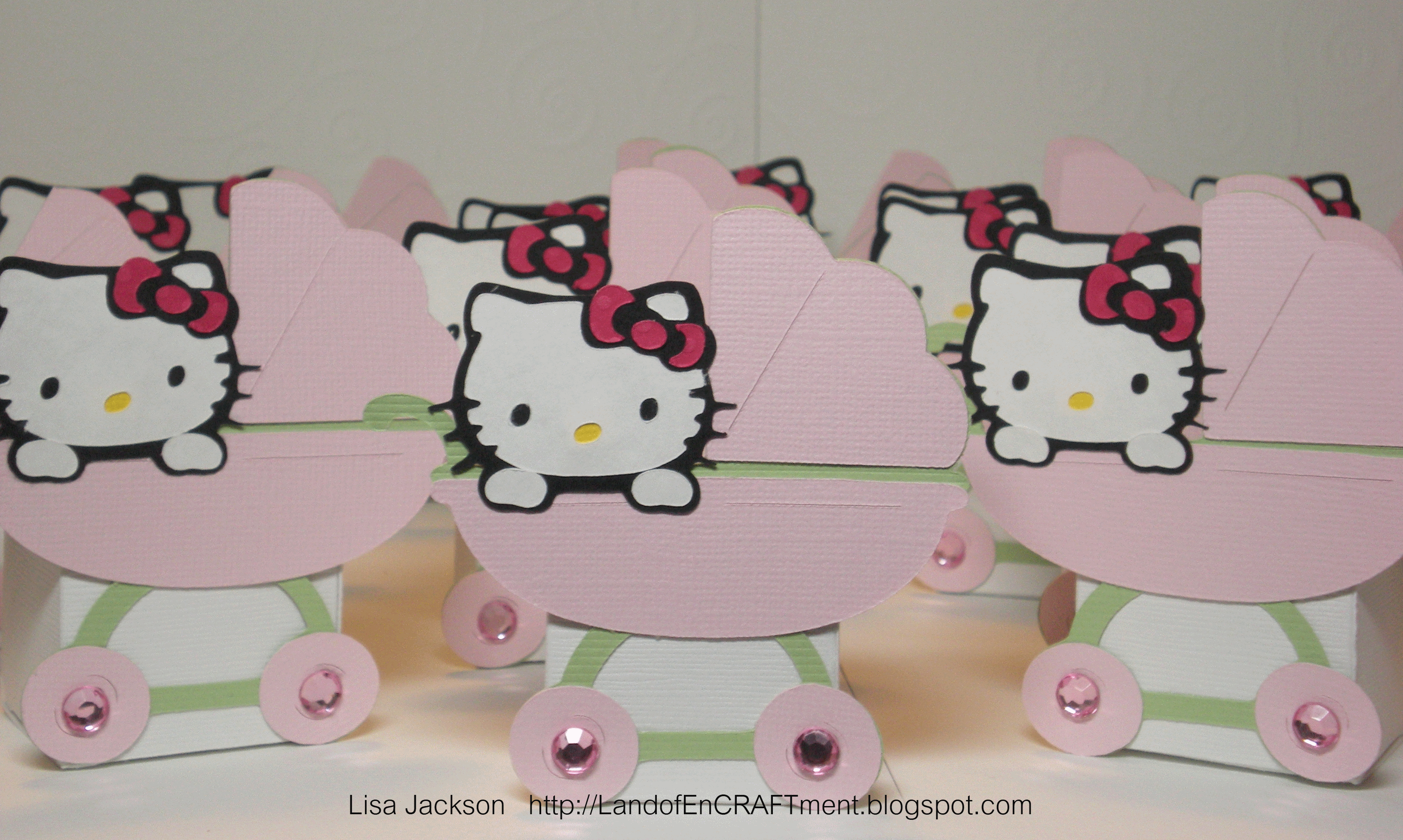 other hello kitty baby shower favors