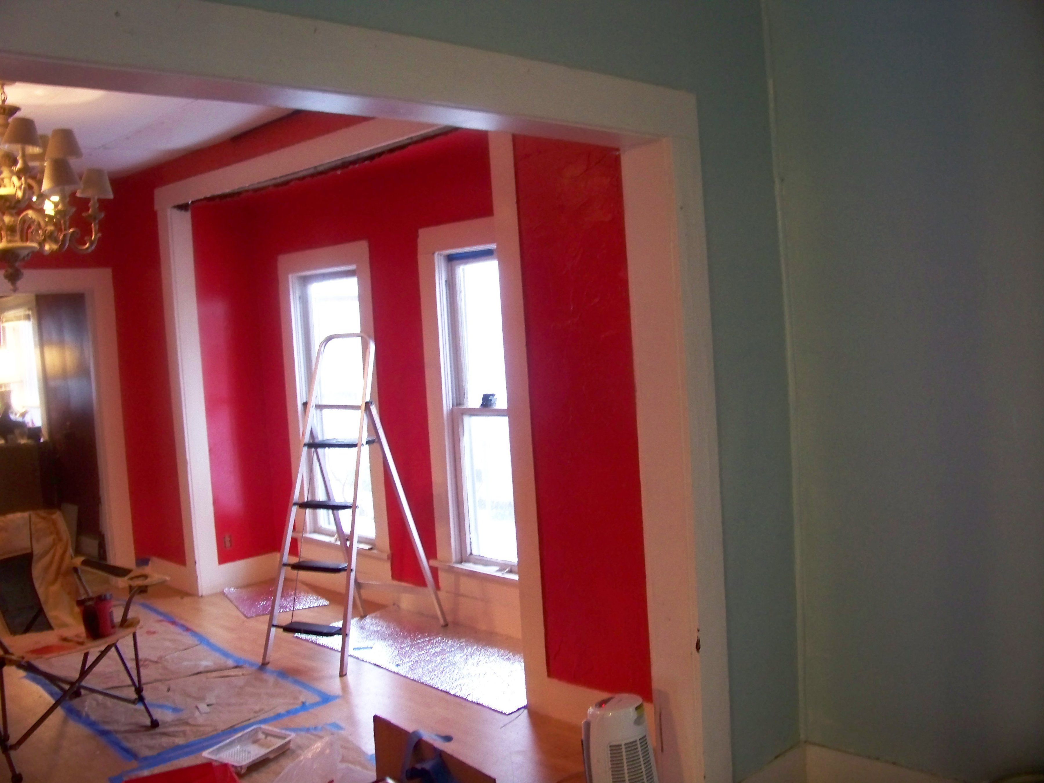 Other Dining Room Painted Red