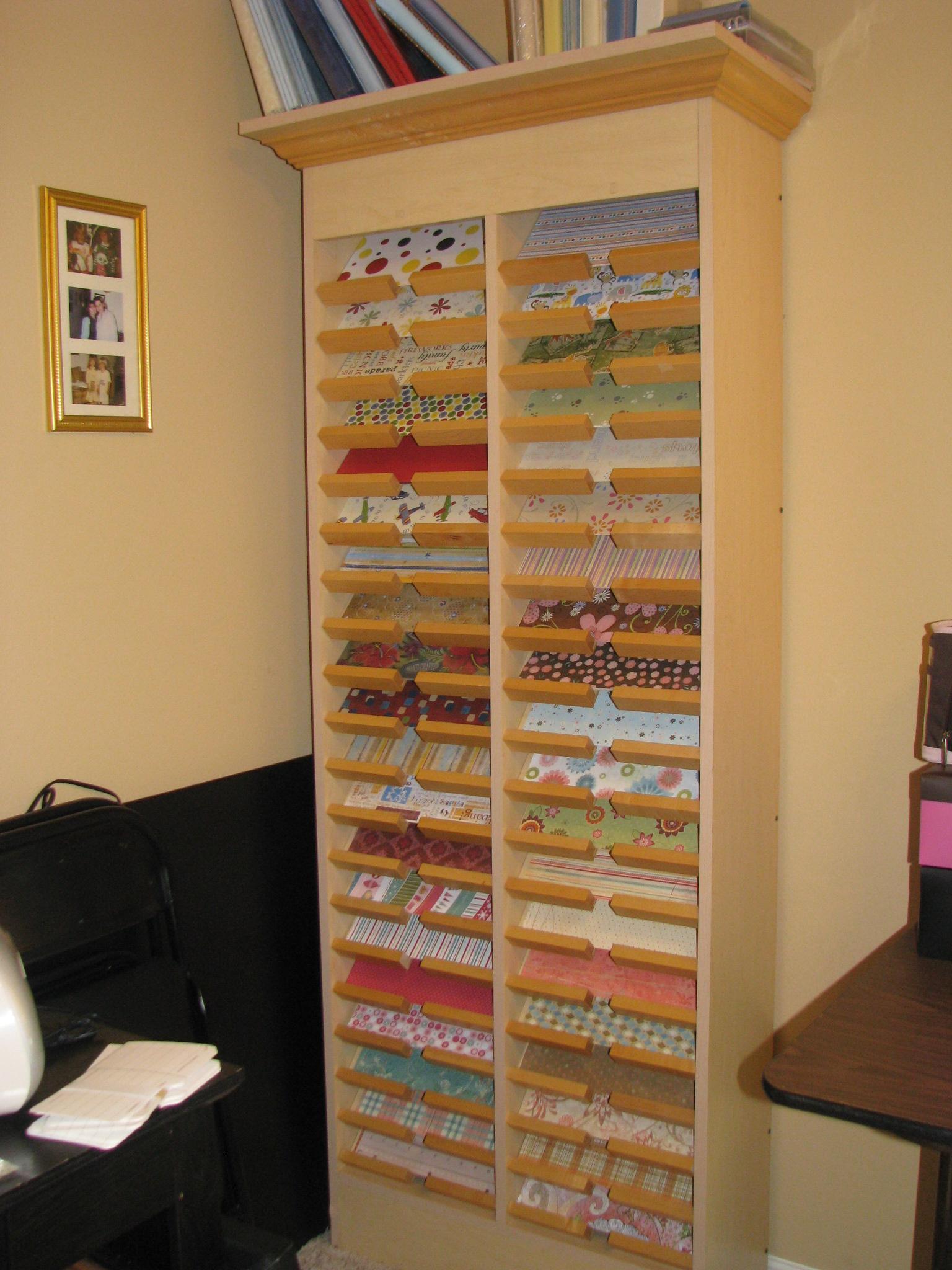 Scraproom: Paper Storage
