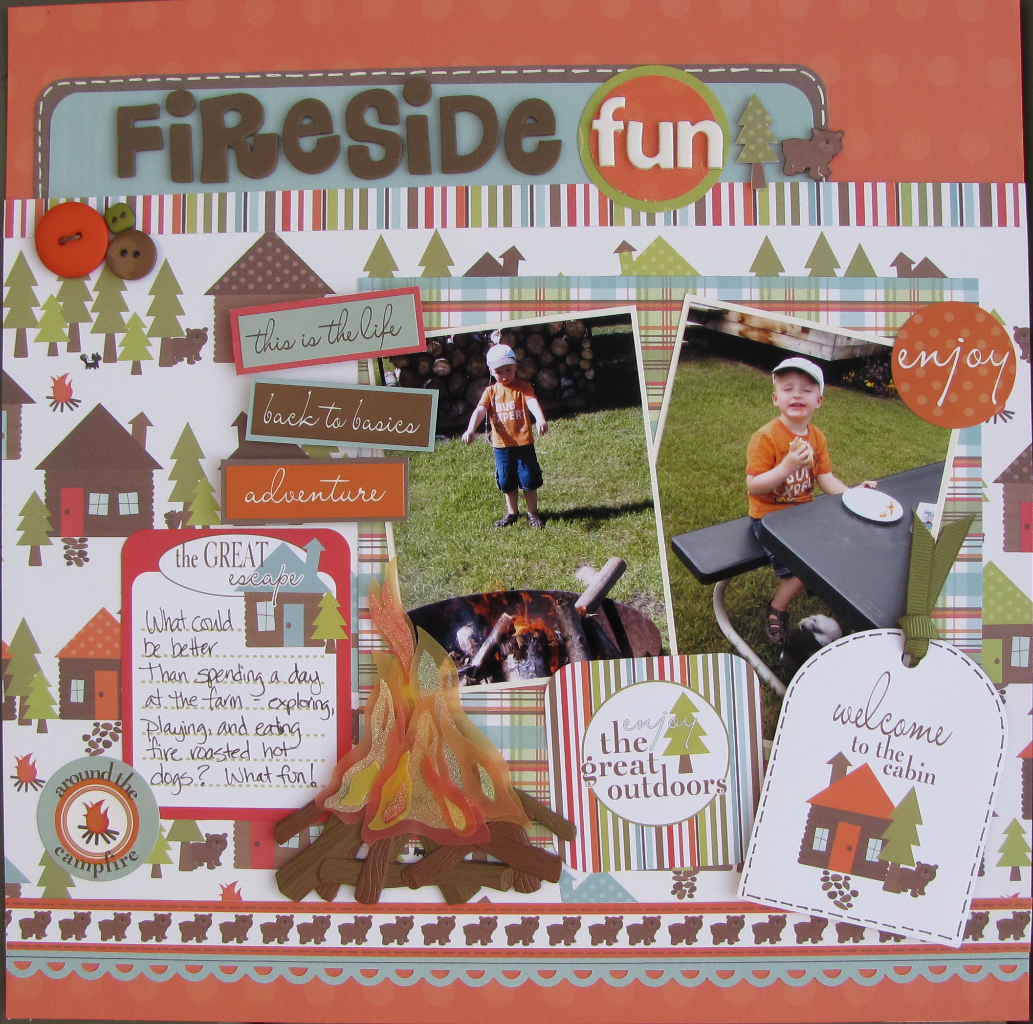 Layout Fireside Fun