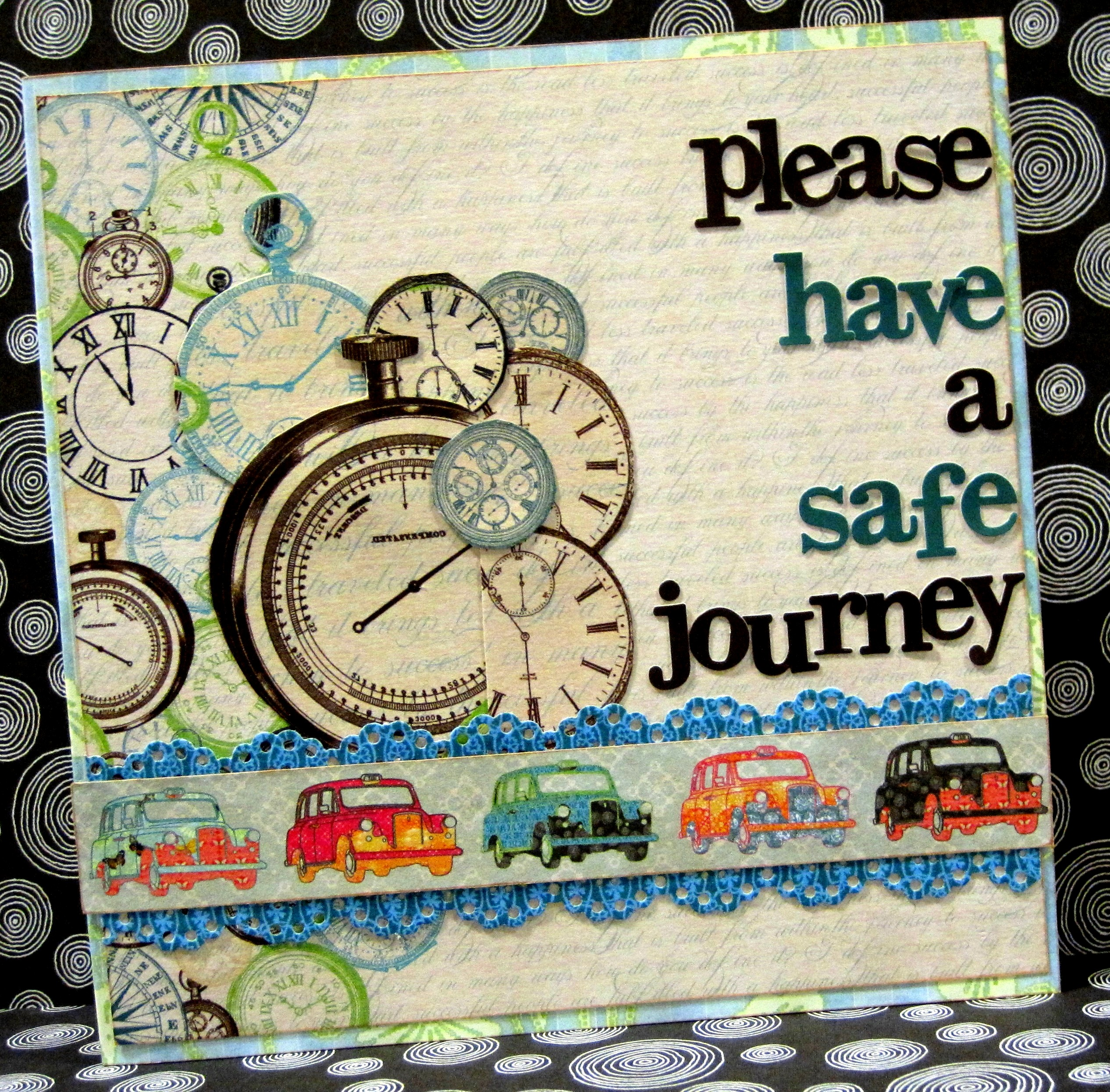 Please Have A Safe JourneyHave A Safe Journey With Flowers