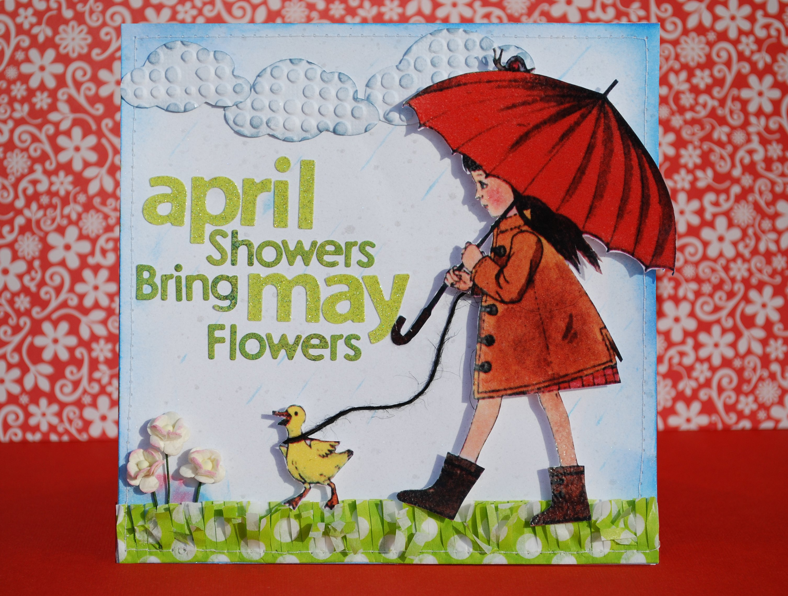 Card: April Showers Bring May Flowers