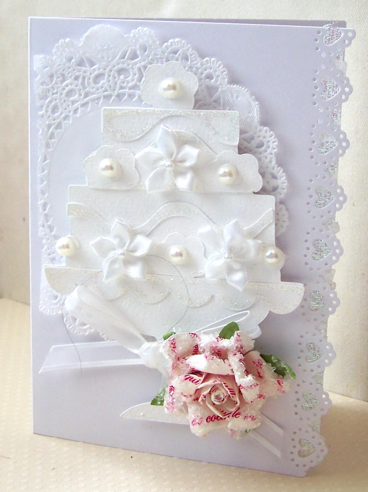 Card Wedding Cake Card