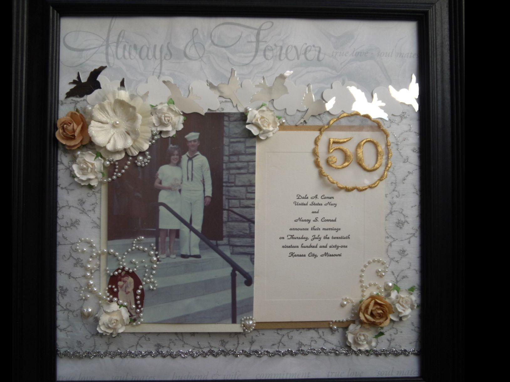 wedding anniversary gifts 50th wedding anniversary ideas for my