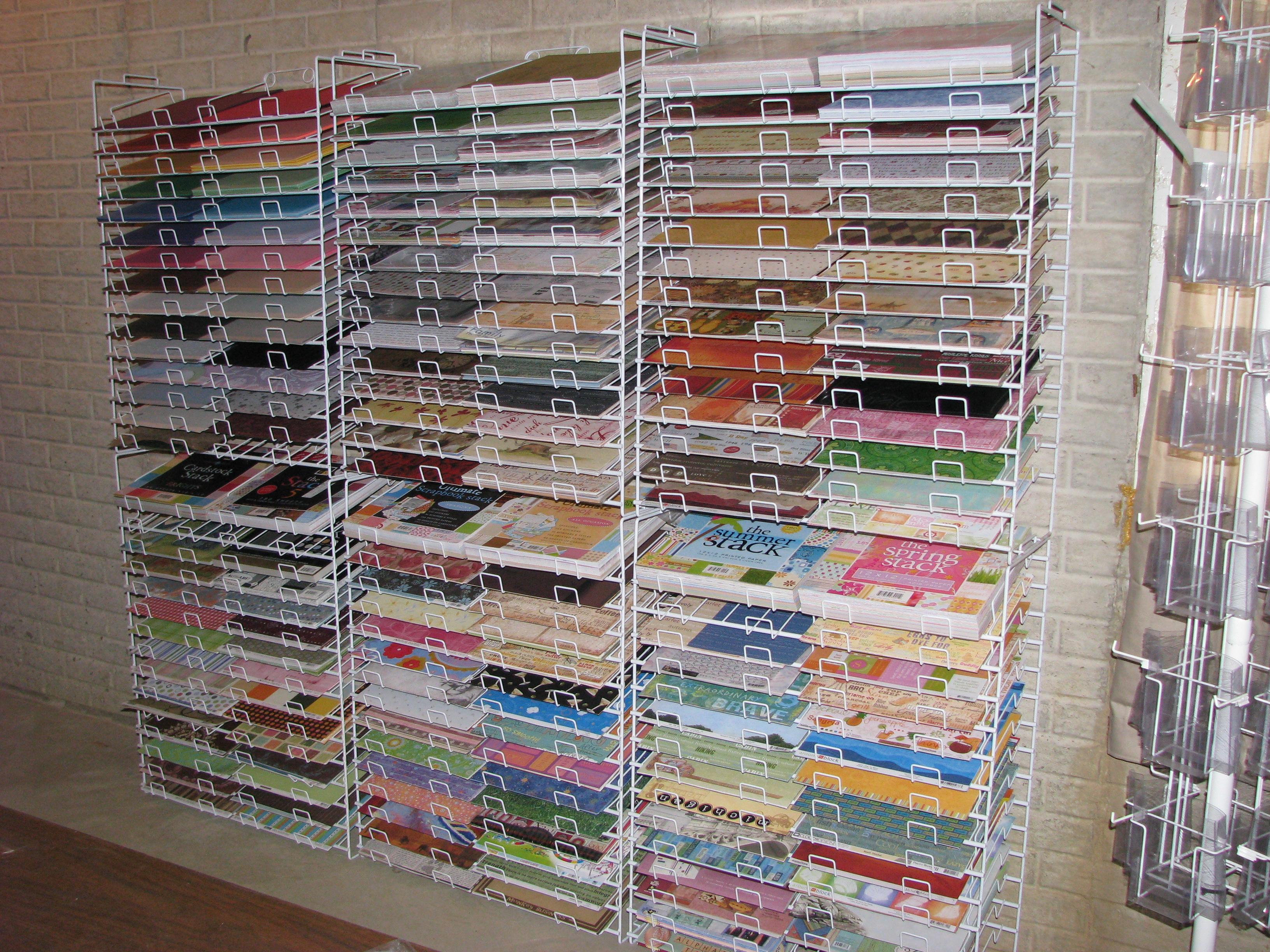 Paper Display Racks