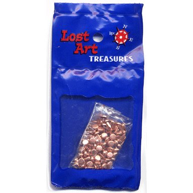 "1/8"" Copper Mini Brads - 100 count"