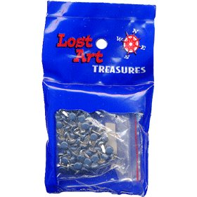 "1/8"" Night Blue Mini Brads - 100 count"