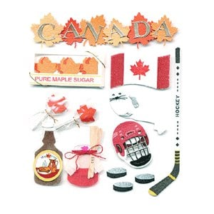 Jolee's Boutique Destinations Stickers - Canada