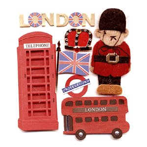 Jolee's Boutique Destinations Stickers - London