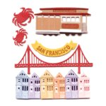 Jolee's Boutique Destinations Stickers - San Francisco