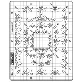 Fiskars Shape Boss Embossing Stencil Set - Square-Burst