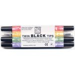 Twin Black Tips 4 pc set