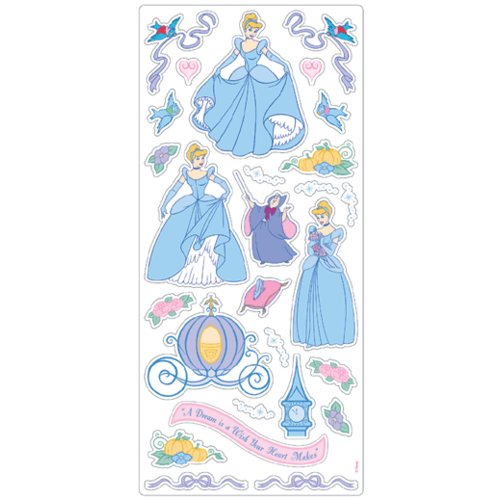 Sandylion Stickers - Cinderella Sticker Sheet