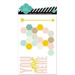 Heidi Swapp - Hello Today Collection - Memory Planner - 4 x 6 Pocket Cards