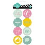 Heidi Swapp - Hello Today Collection - Memory Planner - Cardstock Stickers - Hello