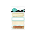 Heidi Swapp - Hello Today Collection - Memory Planner - Wood Stamp Labels - Mint