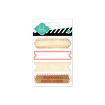 Heidi Swapp - Hello Today Collection - Memory Planner - Wood Stamp Labels - Coral