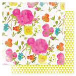 American Crafts - Heidi Swapp - Favorite Things Collection - 12 x 12 Double Sided Paper - In Bloom