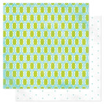 American Crafts - Heidi Swapp - Favorite Things Collection - 12 x 12 Double Sided Paper - Lovely Lattice