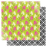 American Crafts - Heidi Swapp - Favorite Things Collection - 12 x 12 Double Sided Paper - Mixed Floral