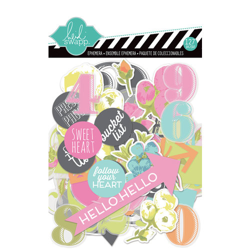 Heidi Swapp - Favorite Things Collection - Ephemera Pack