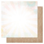 Heidi Swapp - Dreamy Collection - 12 x 12 Double Sided Paper - Dreams Come True