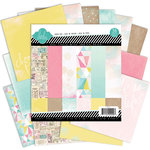 American Crafts - Heidi Swapp - Dreamy Collection - 6 x 6 Paper Pad