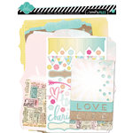 American Crafts - Heidi Swapp - Dreamy Collection - Memory Files Kit
